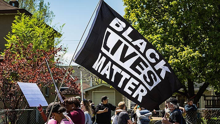 "Kingman Mayor Jen Miles said Tuesday that the city will not fly a ""Black Lives Matter"" flag in Locomotive Park as suggested by a resident in a recent viewpoint published in The Miner. (Photo by Tony Webster, cc-by-sa-2.0,  https://bit.ly/3efMrrf)"
