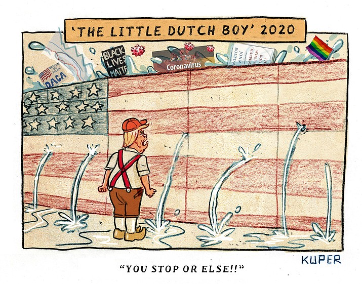 Editorial cartoon (1): June 20, 2020