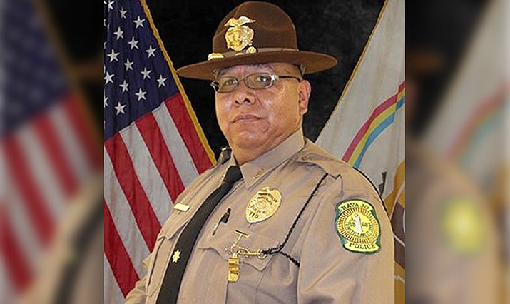 Navajo Nation Police Officer Michael Lee, a 29-year veteran, died Friday morning from COVID-19. (Navajo Police Department/Courtesy)