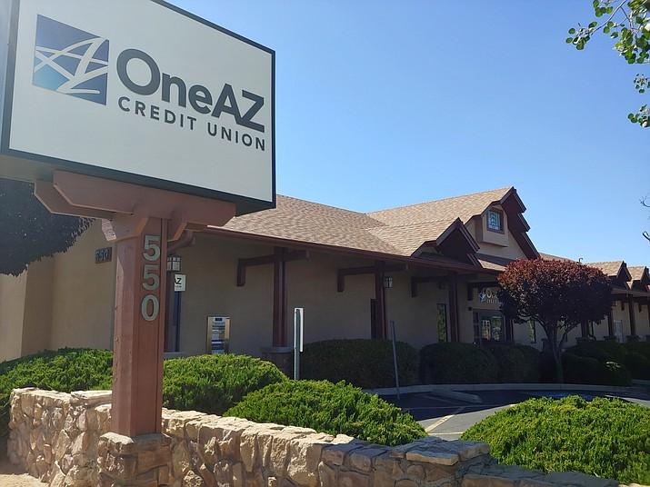 OneAZ Credit Union. (Doug Cook/Courier)