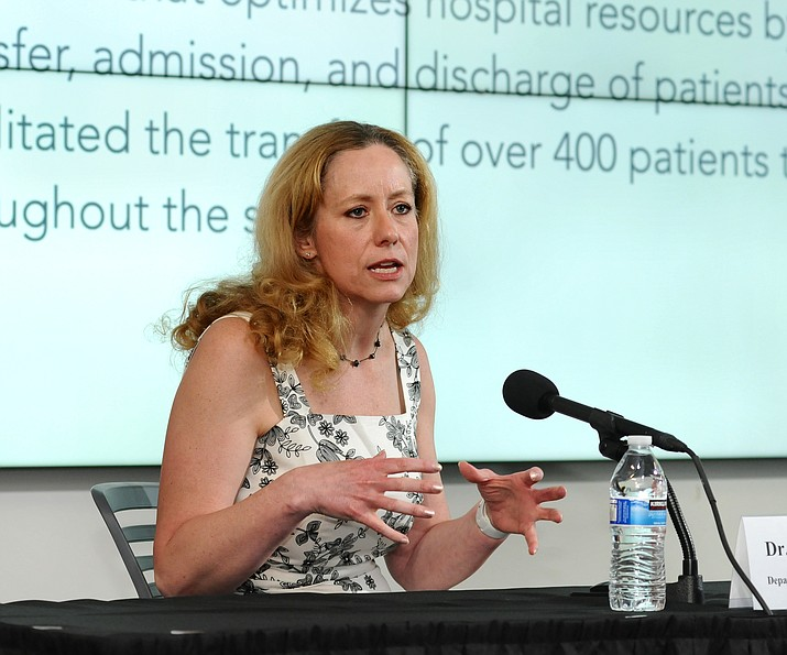 State Health Director Cara Christ. (Howard Fischer/Capitol Media Services, file)