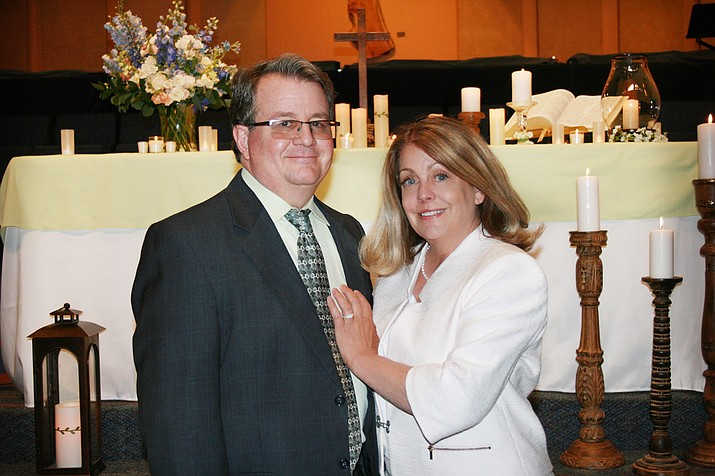 Rev. Daniel Hurlbert and Marci Rogers. (Courtesy)