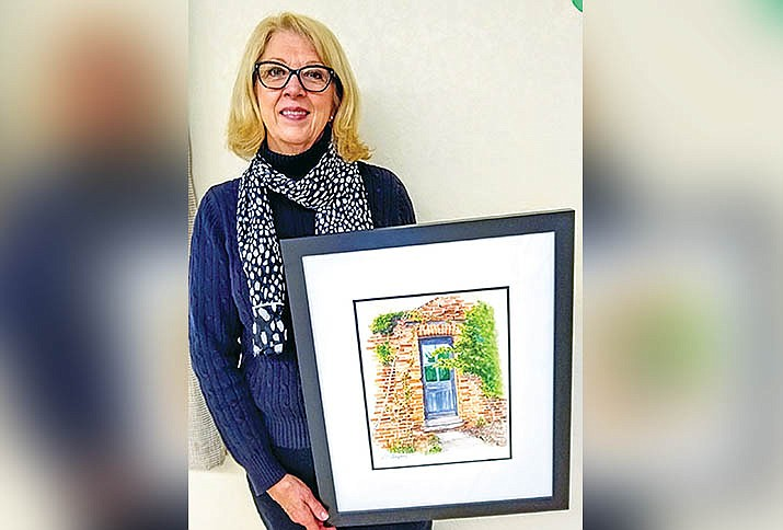 The El Valle Artist Association's last artist of the month voted on by the membership for the 2019-20 year was Valerie Thompson.