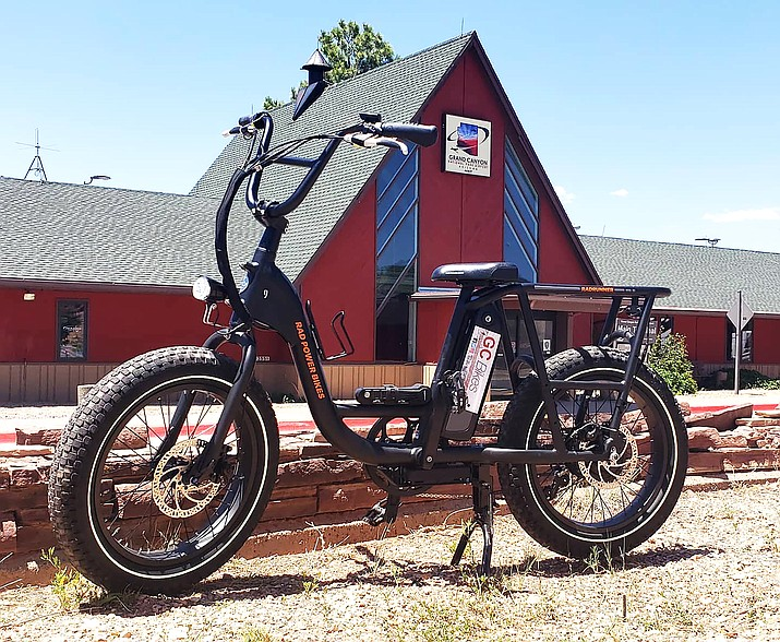 Grand Canyon Bikes celebrated its grand opening June 12-13 in Tusayan and is now offering e-bike rentals. (Photo courtesy of Grand Canyon Bikes)