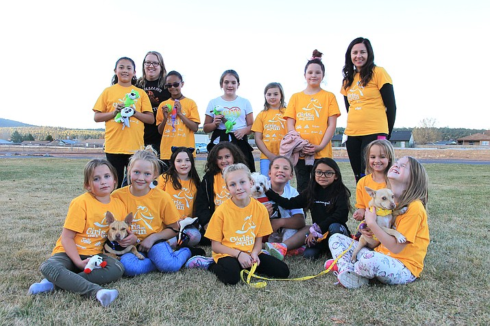 Williams Girls on the Run recently received a grant from the Greater Williams Community Fund. The program benefits young women and girls across the region through the development of running and interpersonal skills. (Photo/Wendy Howell)