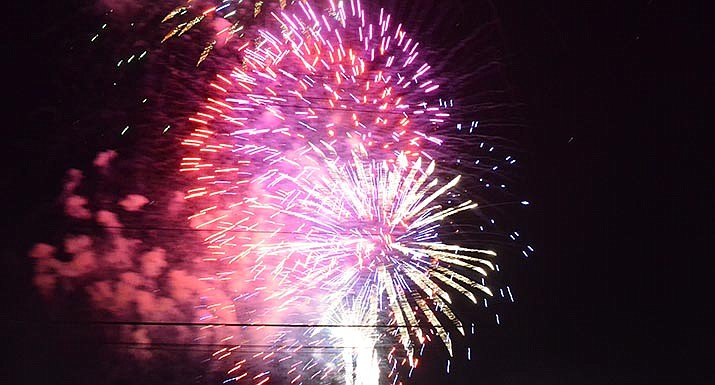 The City of Cottonwood will host a fireworks display to celebrate Independence Day.
