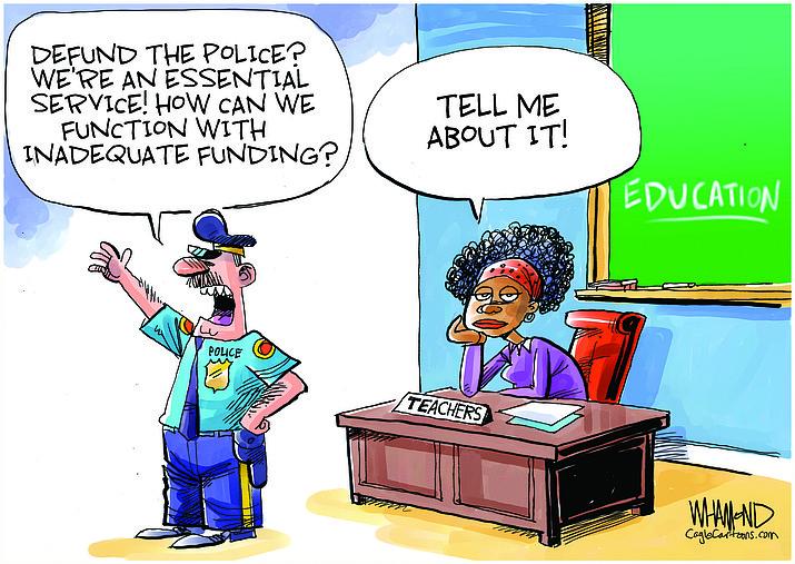 Editorial cartoon (1) June 24, 2020