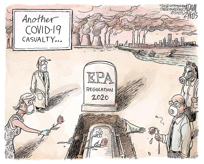 Editorial cartoon (2) June 24, 2020