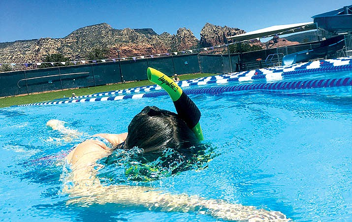 The Sedona Community Pool opened on June 8 for adult lap swim and aqua fitness classes. Monday, the city included recreation swimming throughout the week and StarBabies/StarTots on Saturdays.
