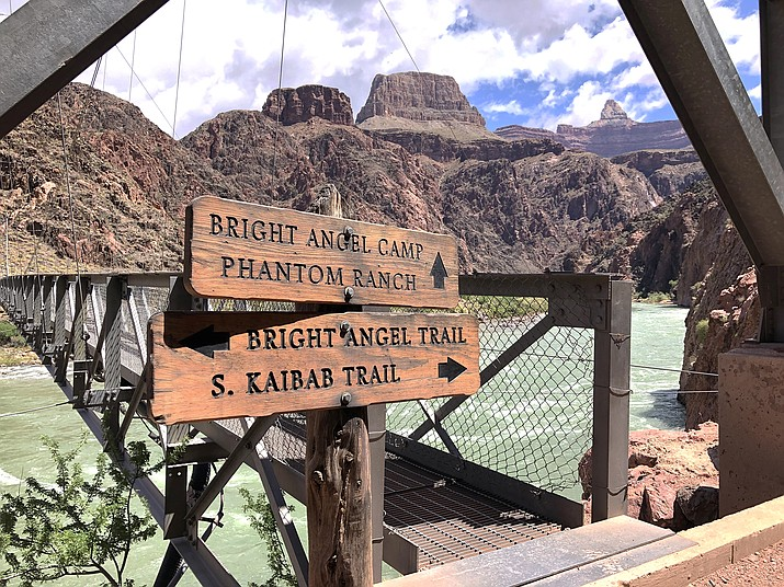 Grand Canyon National Park issued an excessive heat warning June 24 as temperatures reached 130°F (54°C) at Phantom Ranch. (Photo/WGCN)