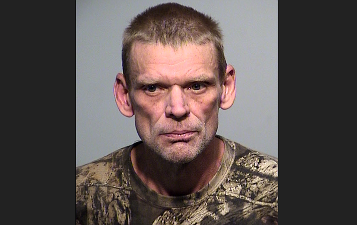 Felony fugitive James Snow was captured by authorities near Ash Fork early Wednesday morning, June 24, 2020. (YCSO/Courtesy)