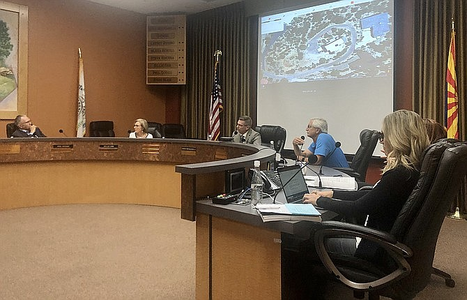 The Prescott City Council met June 23, to discuss a number of issues, including the number of sober living homes currently licensed in Prescott. The number has dropped dramatically from the high of 200 or more about 5 years ago. (Cindy Barks/Courier)