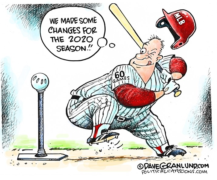 Editorial cartoon (1): June 25, 2020