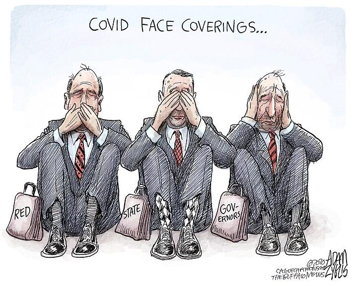 Editorial cartoon (2): June 27, 2020