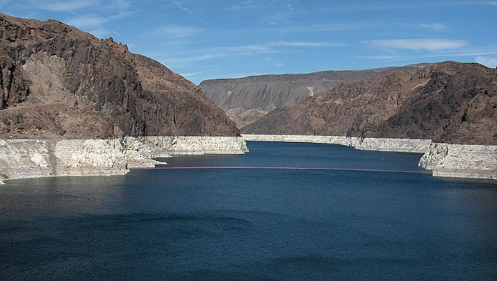 Hoover Dam impounds the Colorado River to form Lake Mead. Arizona water officials met Thursday, June 25, to discuss strategy for negotiating new water use agreements with other states in the river basin. (Public domain)