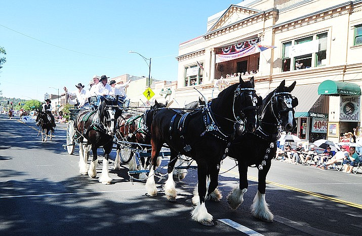 The Prescott Frontier Days Rodeo Parade for 2020 has been canceled due to COVID-19, the rodeo committee announced today, June 26, 2020. (Courier file)