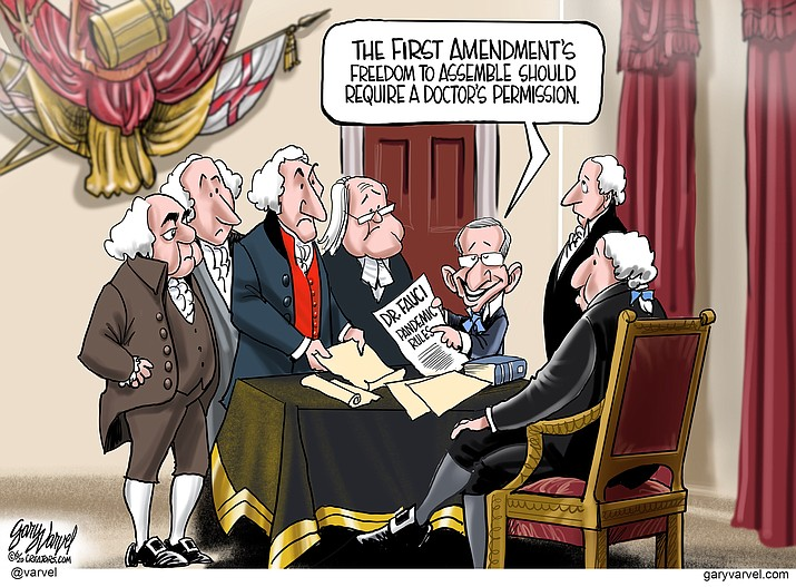Editorial cartoon (1): June 27, 2020