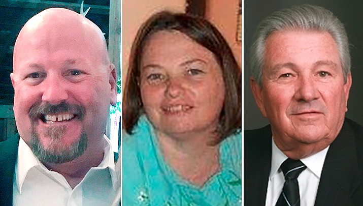 From left, Rand Armstrong, Jane Anderson, and Craig Brown. (Courtesy photos)