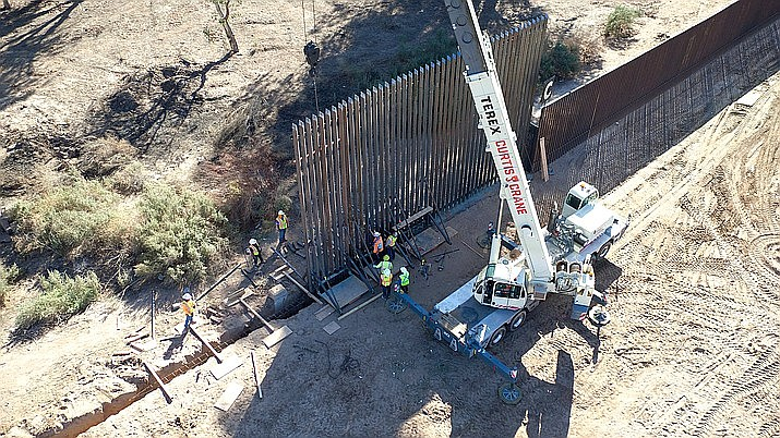 A federal appeals court has ruled the Trump administration illegally diverted $2.5 billion in military construction funds to finance his border wall through Arizona, California and New Mexico. File photo