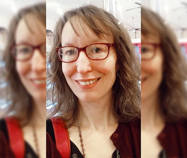 Andrea Lhotka, reference librarian at Sedona Public Library