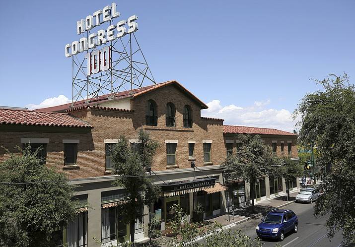 The reopening of Tucson's historic Hotel Congress lasted less than a month.