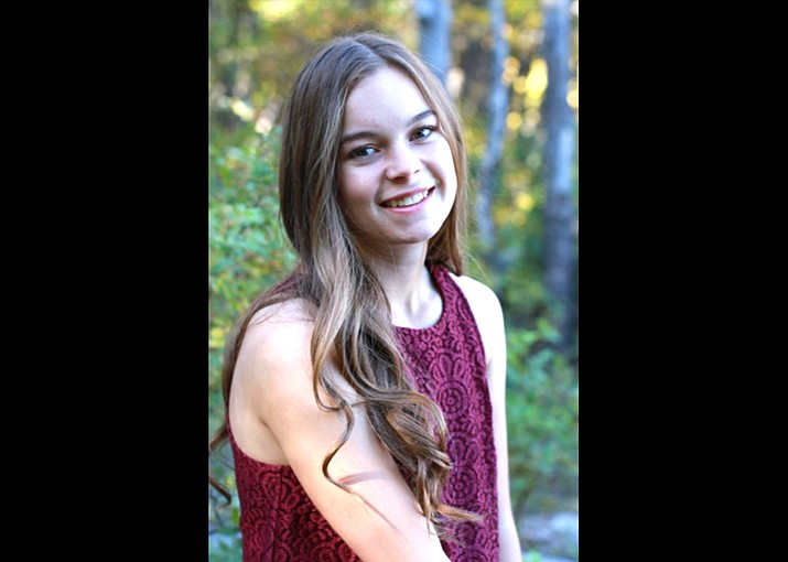 Madison Olson was awarded a $500 scholarship for her essay on the impacts of bullying. (Photo/Coconino Coalition for Children & Youth)