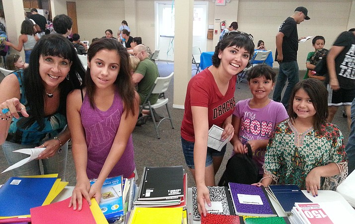 K-12 students from the Village of Oak Creek are invited to receive free backpacks and school supplies Sunday, Aug. 2, and Sunday Aug. 9, from 3-5 p.m., at the Village of Oak Creek Church of the Nazarene (VocNaz), 55 Rojo Drive, a quarter mile south of the Hilton roundabout. There will be free food and drinks available. If you have any questions or would like to volunteer to help with this community project, call Pastor Jim at 702-810-4048 or leave a message at 928-284-0015. Courtesy photo