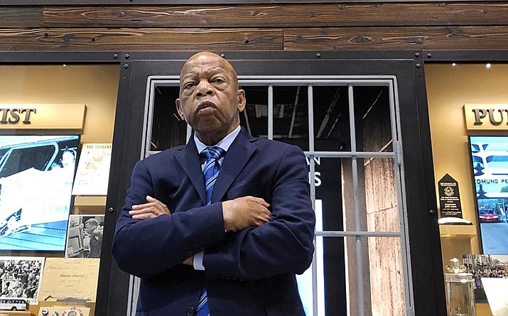 """The Sedona International Film Festival will present the Northern Arizona premiere of the award-winning new documentary """"John Lewis: Good Trouble"""" showing July 3-9 at the Mary D. Fisher Theatre."""