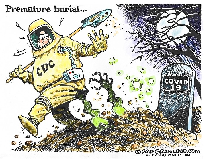 Editorial cartoon (2): July 2, 2020