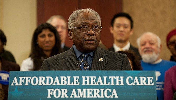 Democrats in Congress are criticizing the Trump administration for problems distributing personal protective gear and testing equipment during the pandemic. Rep. James E. Clyburn, part of the Democratic house leadership, is shown above. (Photo by office of Rep. James E. Clyburn, cc-by-sa-2.0, https://bit.ly/3isD8qf)