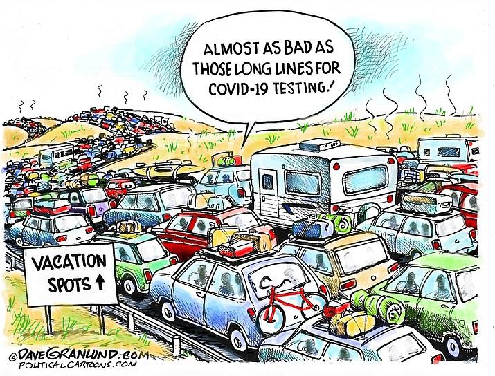 Editorial cartoon (1): July 3, 2020