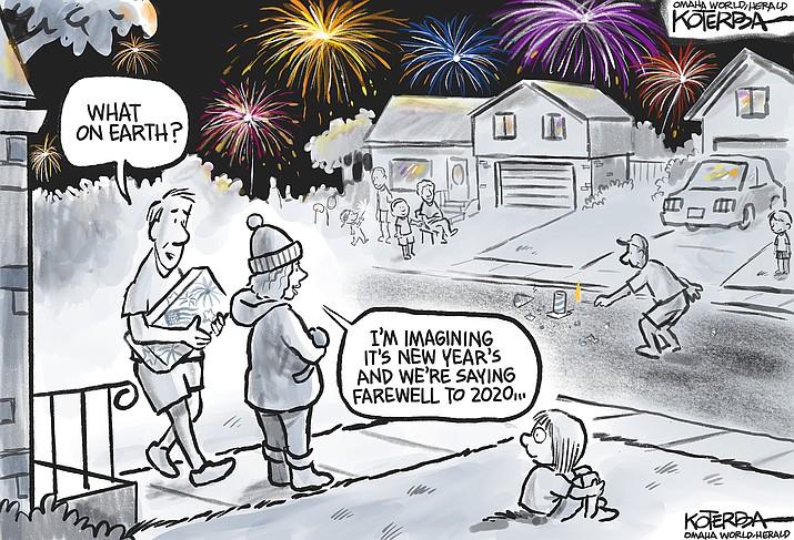Editorial cartoon (2): July 4, 2020