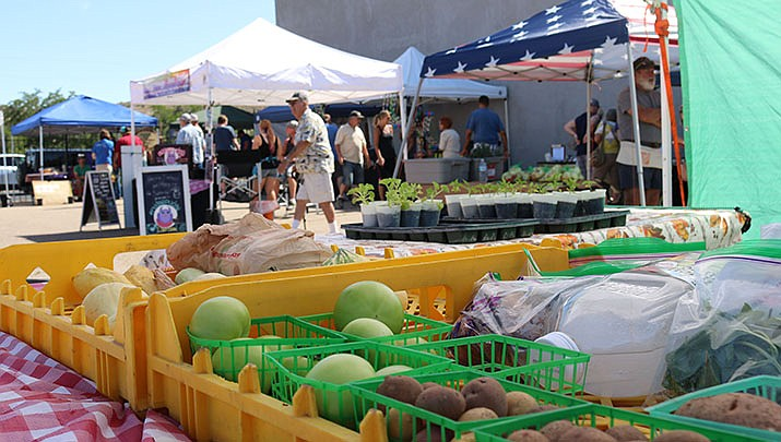 The weekly Kingman Farmers Market has moved to a new location at 210 E. Beale St. (Miner file photo)