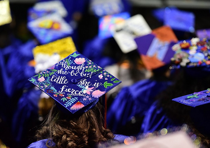 With Gov. Doug Ducey's pandemic restrictions on gatherings of more than 50 individuals, Chino Valley High School's administration and staff are planning a drive-through event and parade for the class of 2020 graduation ceremony. The event has been moved and rescheduled to 10 a.m. Saturday, July 18, at the high school's football field. (PNN file photo)
