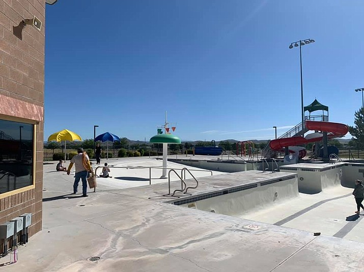 The Chino Valley Town Aquatic Center, located at 1615 N. Road 1 East, will suspend operations effective immediately for the remainder of the swim season. The closure is in accordance with Gov. Doug Ducey's recent executive order which closes down bars, gyms, movie theaters and water parks for 30 days due to the spike in COVID-19 cases in the state. The swim season at the center was scheduled to run through Aug. 9. (Town of Chino Valley/Courtesy file photo)