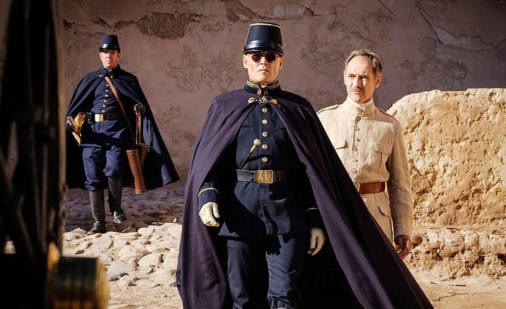 "Waiting for the Barbarians"" stars Johnny Depp, Mark Rylance, Robert Pattinson and Gana Bayarsaikhan. Courtesy photo."