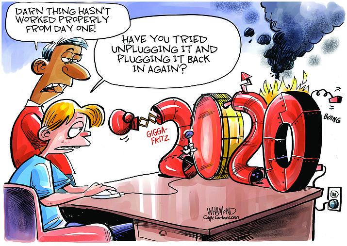 Editorial cartoon (2): July 7, 2020