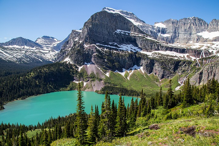 Glacier National Park is located in northwestern Montana and shares a border with Canada as well as the Blackfeet Reservation. The tribe recently announced the closure of the eastern boundary of Glacier National Park for the remainder of the 2020 tourist season. (Photo/Adobe Stock)
