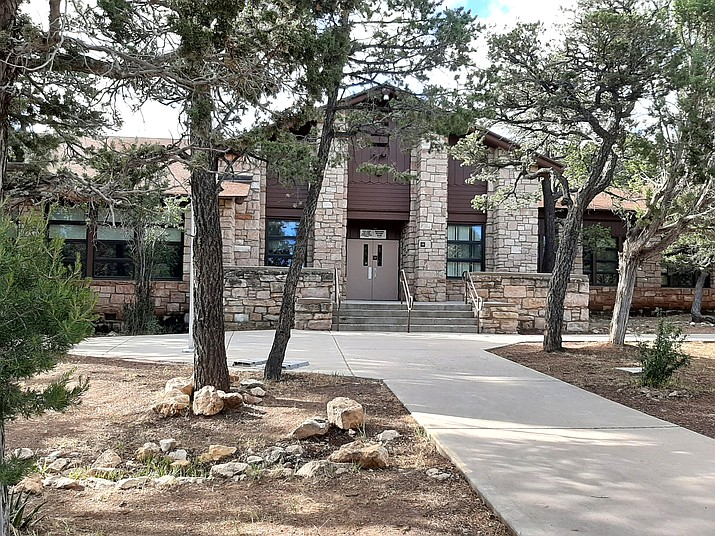 The Grand Canyon School campus has been closed since late March because of COVID-19. Plans are currently being made for the 2020/2021 school year. (Abigail Kessler/WGCN)