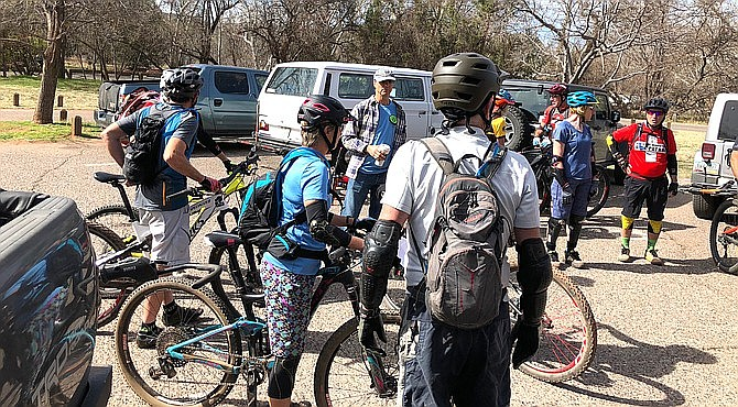 The Verde Valley Cyclists Coalition was recently awarded a $102,000 trail building grant from the Catena Foundation for Phase 2 of the Blowout Wash Trail System. VVN file