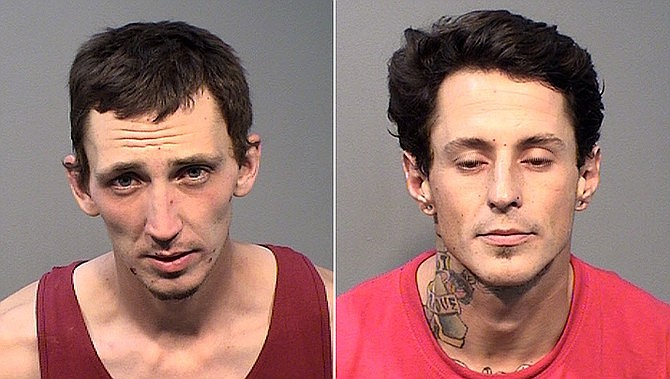 Dylan Croghan, left, and Michael Thornburg. (YCSO/Courtesy photos)