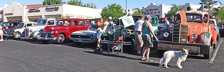 The Prescott Antique Auto Club's Car Show, Parts Exchange & Old Engine Fire-up has been canceled for 2020 at Watson Lake Park. (Prescott Antique Auto Club/Courtesy file photo)