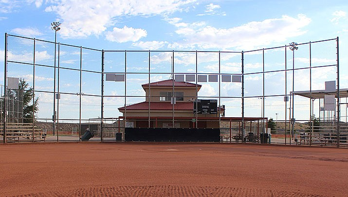 Kingman has canceled several large baseball and softball tournaments on city fields in July due to coronavirus concerns. (Miner file photo)