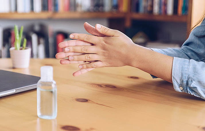 This week, the US Food and Drug Administration has added five hand sanitizers to its list of products that have tested positive for a toxic chemical, according to a news release from Yavapai County Community Health Services. (Stock photo)