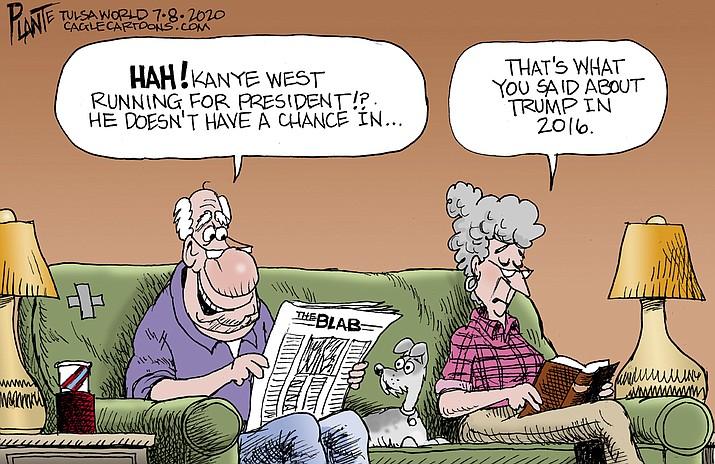 Editorial cartoon (1): July 11, 2020