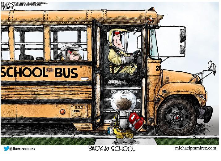 Editorial cartoon (2): July 12, 2020