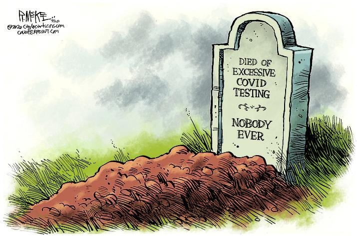 Editorial cartoon (1): July 12, 2020