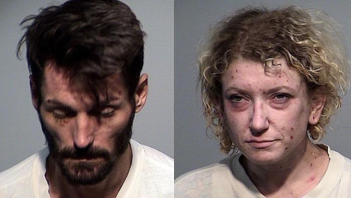 Richard Killeen, 31, and Shannon Barnard, 33, both of Ash Fork. (YCSO/Courtesy photos)