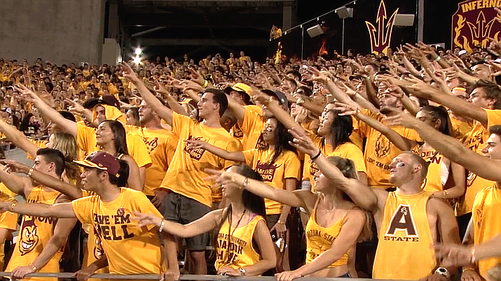 Football fans attending Sun Devil Stadium in the fall will only see conference games after the Pac-12's decision Friday. (Cronkite News file photo)