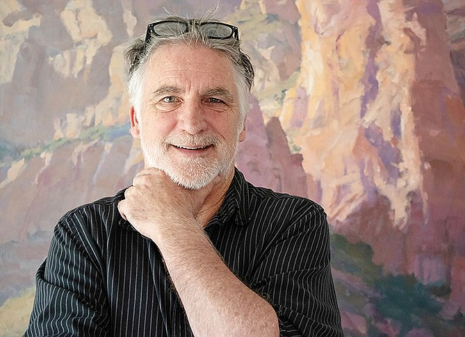 After 17 years with Sedona Arts Center, the past three as executive director, Vince Fazio is relocating to Florida to spend time with his father. Courtesy photo